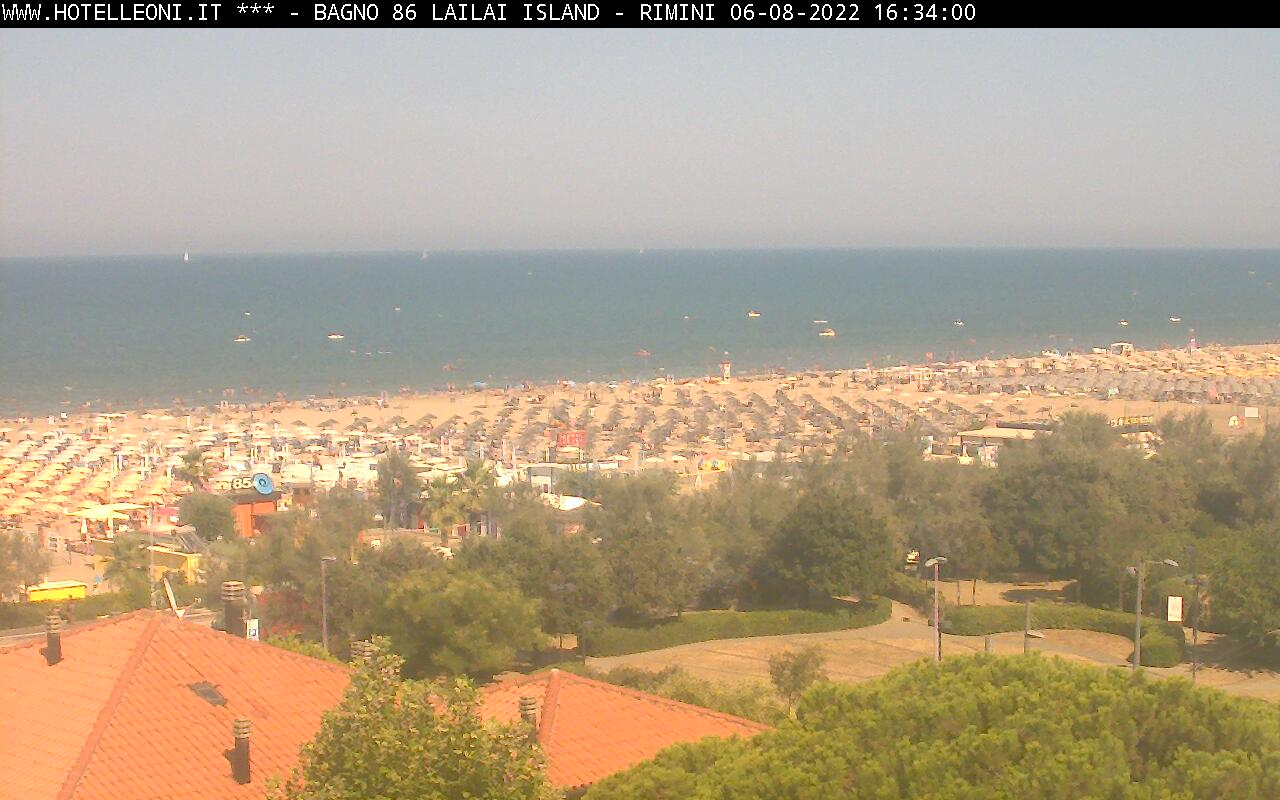 Webcam vista mare di Bellariva